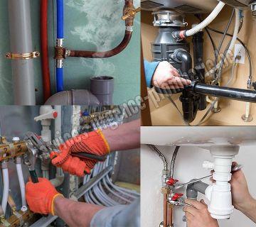 Nettoyage de la tuyauterie, toilettes, évier, douche, lavabo, détection d'une fuite avec caméra.