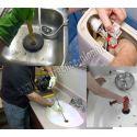 Débouchage des canalisations WC, sanitaires, tuyauteries douche, salle de bain.