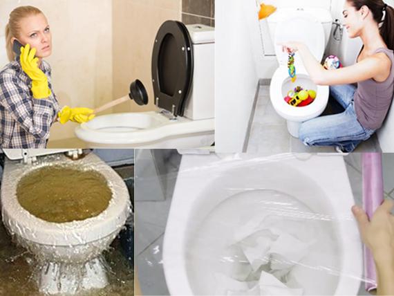 Pourquoi mes toilettes sont bouchées